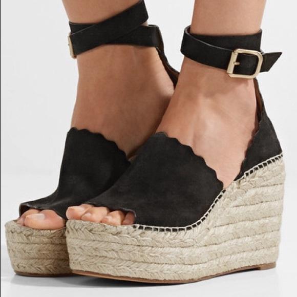 Chloe Lauren Espadrille Wedge Sandals